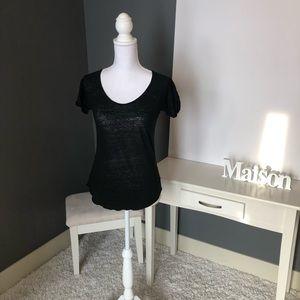 Zara Basic Black T-Shirt